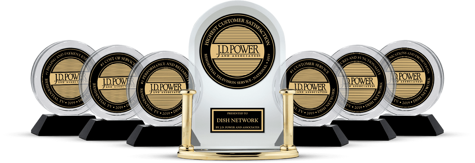 DISH Customer Satisfaction - Ranked #1 by JD Power - A&E Satellites in Ponca City, OK - DISH Authorized Retailer