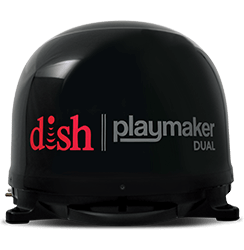 DISH Playmaker Dual - Outdoor TV - Ponca City, OK - A&E Satellites - DISH Authorized Retailer