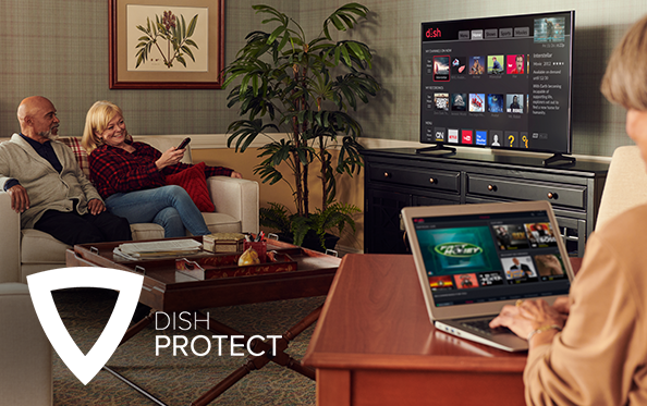 Get DISH Protect from A&E Satellites in Ponca City, OK